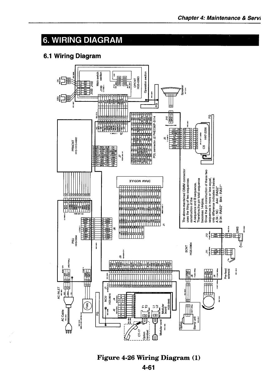 canon fax l800 parts and service manual
